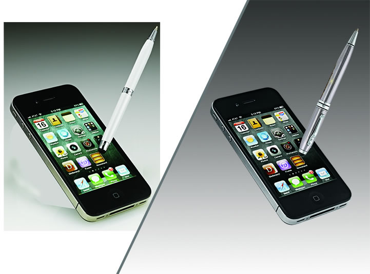 phone stylus before & after